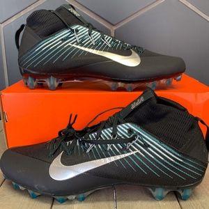 Nike Vapor Untouchable 2 Black Teal Silver Cleats